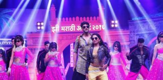 shiv-and-gauri-during-zee-marathi-awards-2016-zee-marathi-awards-2016