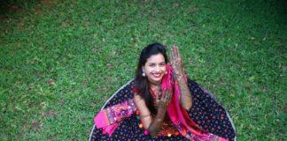 Mayuri Wagh and Piyush Ranade mehendi photos