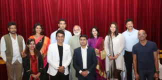 Mrunal Kulkarni & Umesh Kulkarni felicitated at Ciinemascope Festival