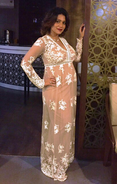 Urmila Kothare flaunted her baby bump in style